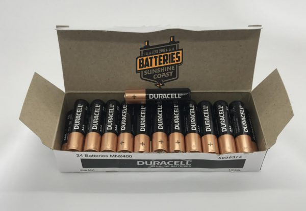 24 pack aaa duracell battery