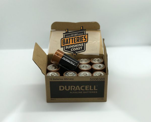 C size duracell 12 pack