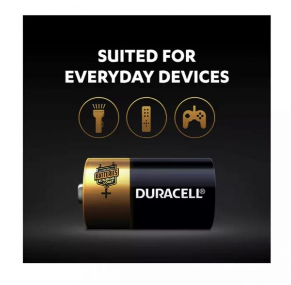 C Batteries from duracell